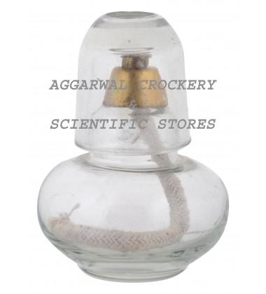 Aggarwal Crockery & Scientific Stores Glass Spirit Lamp 125ml