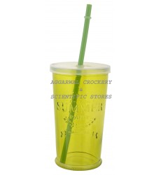 Aggarwal Crockery & Scientific Stores Summer Glass Green 400ml