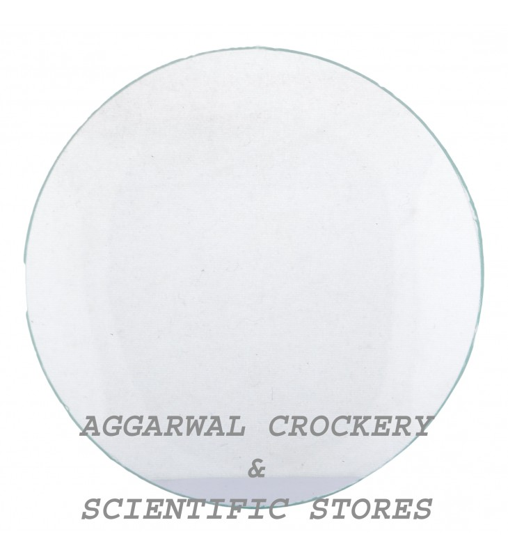 Aggarwal Crockery Scientific Stores Watch Glass 100mm Laboratory Pack Of 10