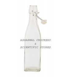Aggarwal Crockery & Scientific Stores Glass Bottle White 500 ml