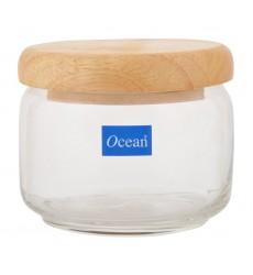 Ocean Pop Jar 325 ml with Wooden Lid (Set of 6)