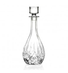 Rcr Crystal Glass Opera Tall Round Wine Whiskey Decanter 900ml