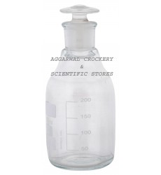 Aggarwal Crockery & Scientific Stores Reagent Bottle Narrow Mouth 250ml Borosilicate Glass