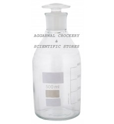 Aggarwal Crockery & Scientific Stores Reagent Bottle Narrow Mouth 500ml Borosilicate Glass