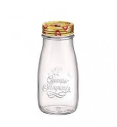 Bormioli Rocco Quattro Stagioni Tutti Frutti Bottle, 40 cl-13.5 oz, Clear