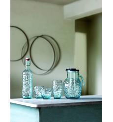 Luigi Bormioli Prezioso Bottle, 34 oz, Blue