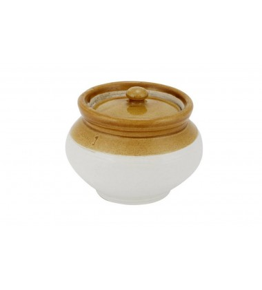 Aggarwal Crockery & Scientific Stores Teracotta Pickle Jar Handi, 1kg