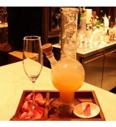 Aggarwal Crockery & Scientific Stores Glass Mason Senior Cocktail/Pitcher Jar, 1000 ml, Clear (Matka Shape)