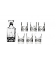 RCR Crystal Opera Whisky 7 Pcs Set (6 Wine Glass and 1 Decanter)