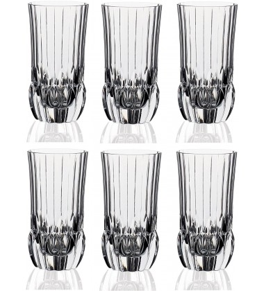 RCR Adagio Highball Tumbler, 400ml, Set of 6