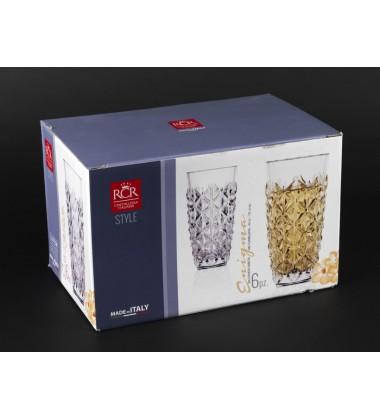 RCR Enigma Bicchieri Bibita Glass 400 ML Tumblers - Set of 6