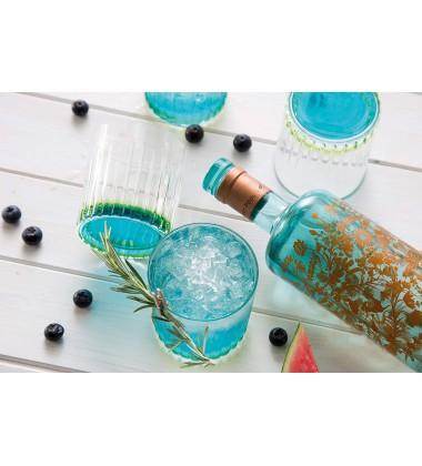 RCR Gipsy Crystal Short Whisky Water Tumblers Glasses Green 89 X 89 X 209 C